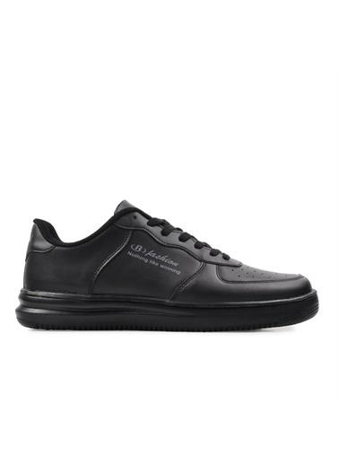 Bestof Bestof Bst-042 Siyah-Siyah Erkek Spor Ayakkabı Siyah
